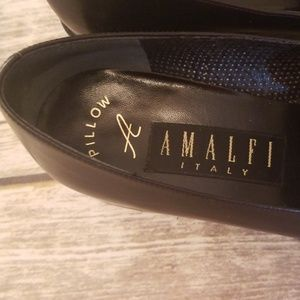 Amalfi Shoes - AMALFI Black Leather And Suede Loafers
